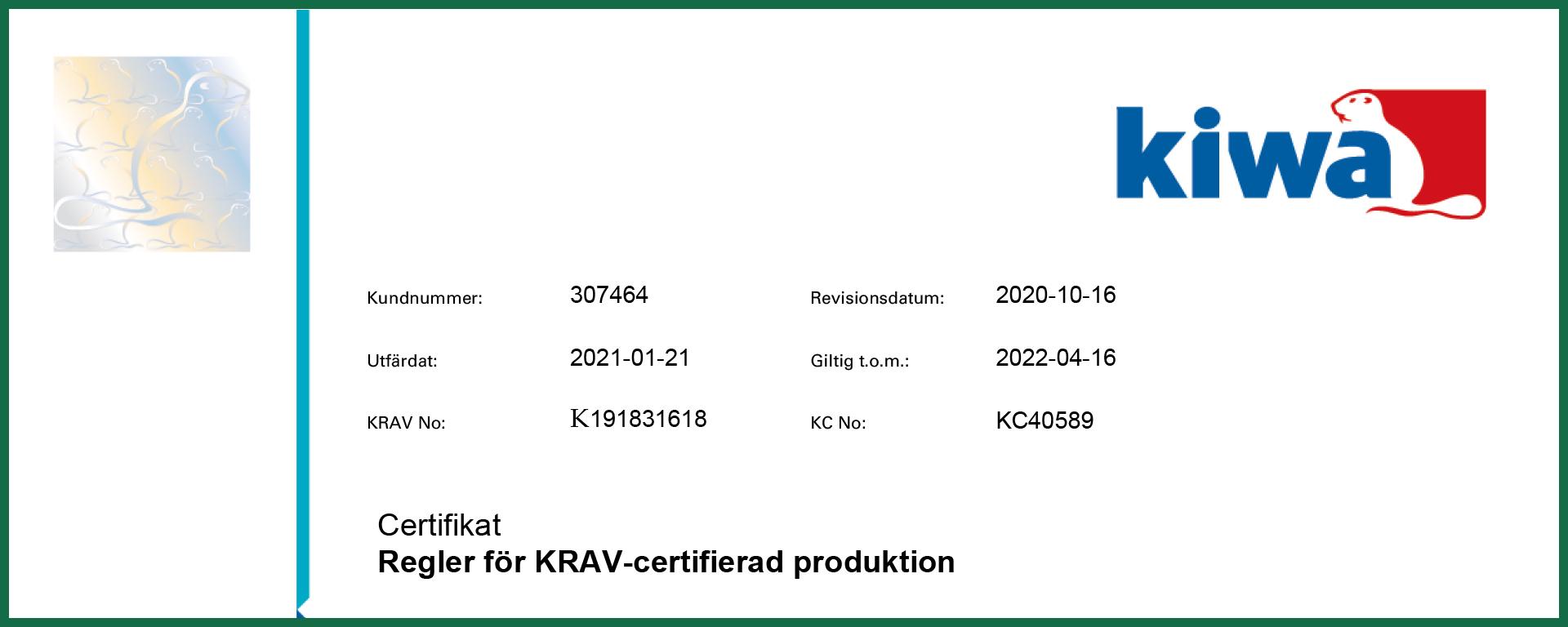 KRAV_certifikat_Ecoturf